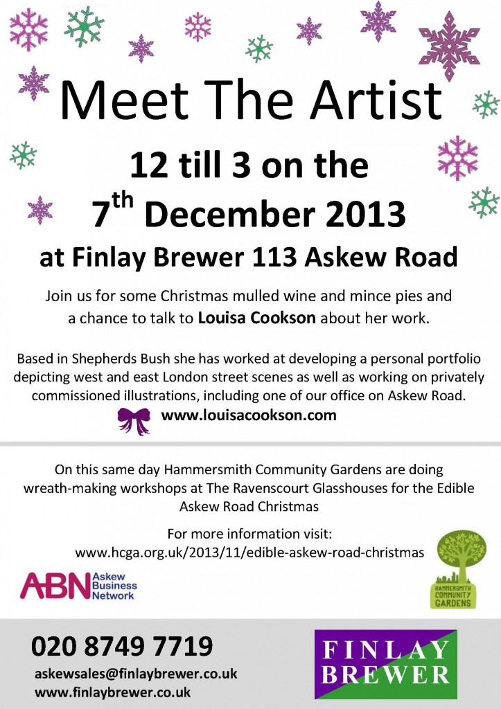 Christmas Drinks 7th Dec